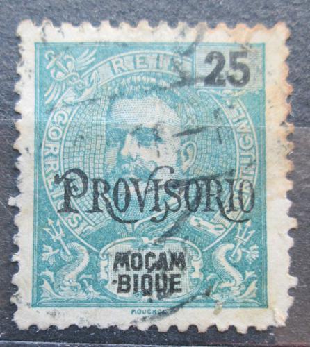 Poštovní známka Mosambik 1902 Král Carlos I. pøetisk Mi# 91