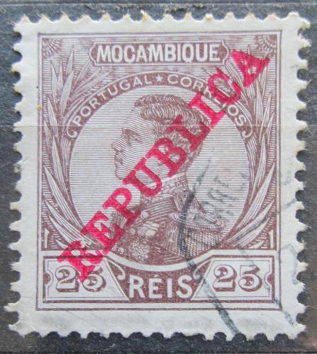 Poštovní známka Mosambik 1912 Král Manuel Mi# 122