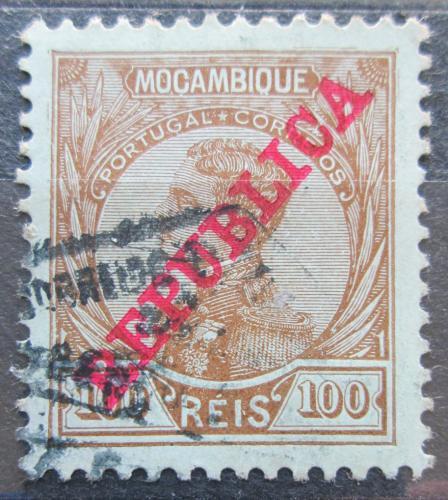 Poštovní známka Mosambik 1912 Král Manuel Mi# 125