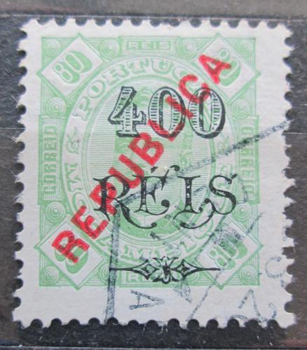 Poštovní známka Mosambik 1902 Král Carlos I. pøetisk Mi# 88