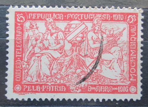 Poštovní známka Mosambik 1918 Váleèné danì Mi# 3 A