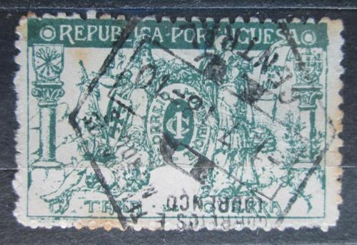 Poštovní známka Mosambik 1918 Váleèné danì Mi# 4