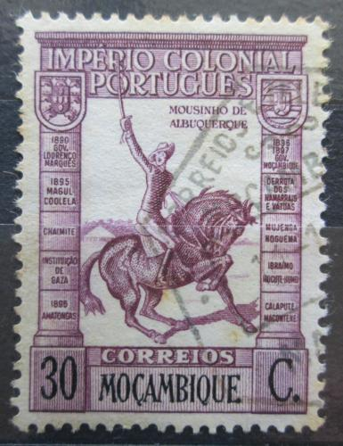 Poštovní známka Mosambik 1938 Mousinho de Albuquerque Mi# 302