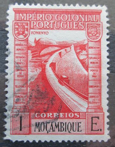 Poštovní známka Mosambik 1938 Pøehradní nádrž Mi# 309