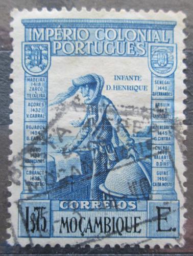 Poštovní známka Mosambik 1938 Jindøich Moøeplavec Mi# 310