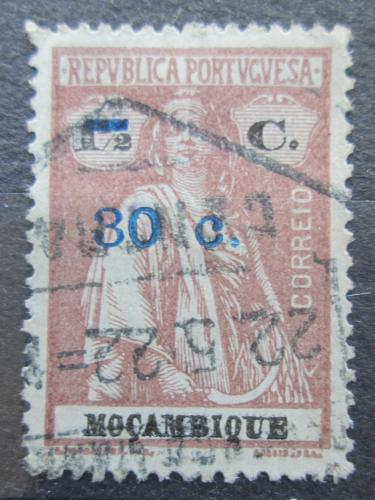 Poštovní známka Mosambik 1921 Ceres pøetisk Mi# 231