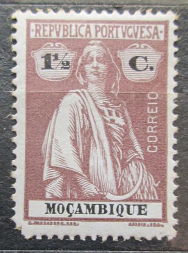 Poštovní známka Mosambik 1921 Ceres Mi# 156 yA