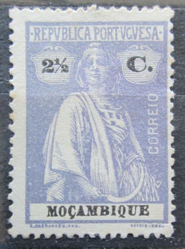 Poštovní známka Mosambik 1921 Ceres Mi# 158 yA