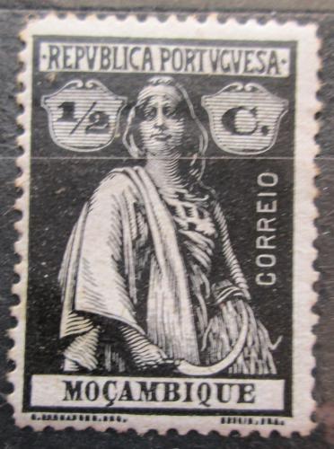 Poštovní známka Mosambik 1913 Ceres Mi# 154 xA