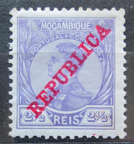 Poštovní známka Mosambik 1912 Král Manuel pøetisk Mi# 118