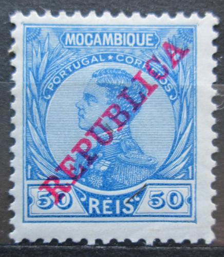 Poštovní známka Mosambik 1912 Král Manuel pøetisk Mi# 123