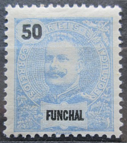 Poštovní známka Funchal, Madeira 1905 Král Carlos I. Mi# 29