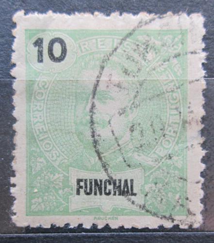 Poštovní známka Funchal, Madeira 1897 Král Carlos I. Mi# 15 A