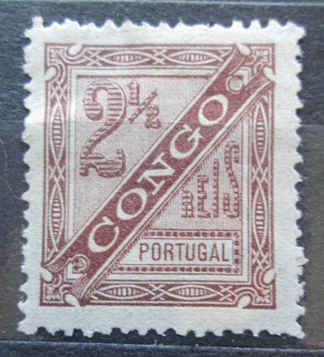Poštovní známka Portugalské Kongo 1894 Nominál, novinová Mi# 1 A