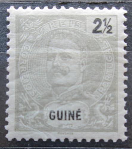 Poštovní známka Portugalské Guinea 1898 Král Carlos I. Mi# 38