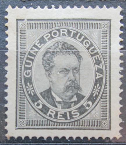Poštovní známka Portugalské Guinea 1886 Král Ludvík I. Mi# 15 A Kat 6€