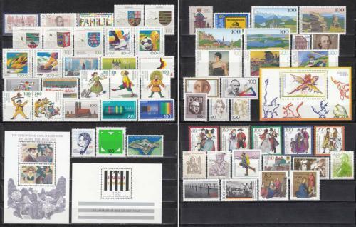 Kompletní roèník Nìmecko 1994 Mi# 1709-71 Kat 131.30€
