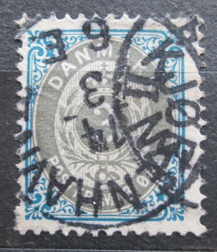 Poštovní známka Dánsko 1895 Nominální hodnota Mi# 22 I Y B b Kat 6€