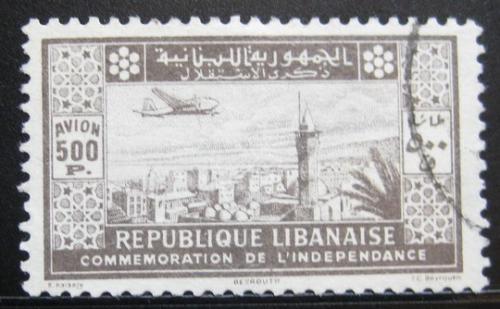 Poštovní známka Libanon 1943 Vyhlášení nezávislosti Mi# 276 Kat 32€