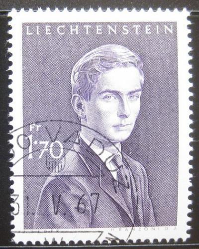 Poštovní známka Lichtenštejnsko 1964 Princ Hans-Adam Mi# 439