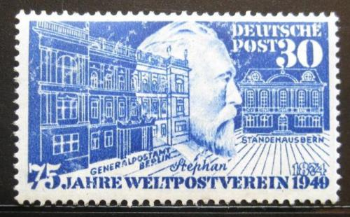 Poštovní známka Nìmecko 1949 Výroèí UPU Mi# 116 Kat 68€