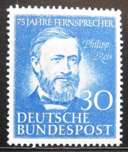 Poštovní známka Nìmecko 1952 Philipp Reis Mi# 161 50€