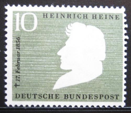 Poštovní známka Nìmecko 1956 Heinrich Heine Mi# 229