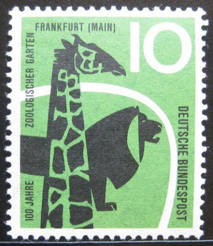 Poštovní známka Nìmecko 1958 Fauna Mi# 288