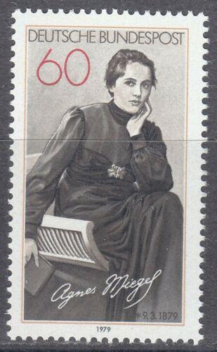 Poštovní známka Nìmecko 1979 Agnes Miegel, básníøka Mi# 1001
