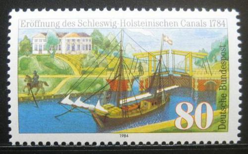Poštovní známka Nìmecko 1984 Plachetnice Mi# 1223