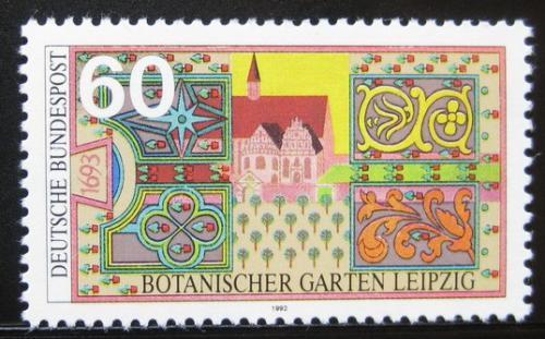 Poštovní známka Nìmecko 1992 Botanická zahrada v Lipsku Mi# 1622