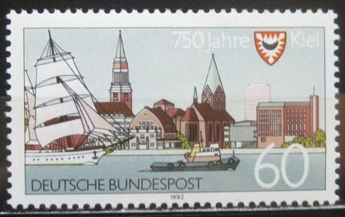 Poštovní známka Nìmecko 1992 Kiel Mi# 1598