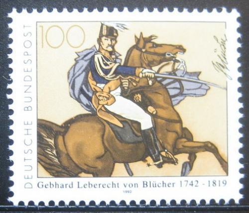 Poštovní známka Nìmecko 1992 Kníže Blücher von Wahlstatt Mi# 1641
