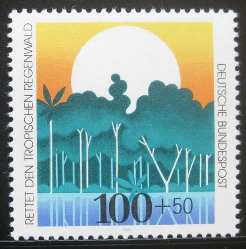 Poštovní známka Nìmecko 1992 Ochrana pøírody, tropický les Mi# 1615