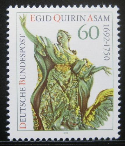 Poštovní známka Nìmecko 1992 Socha, Egid Quirin Asam Mi# 1624