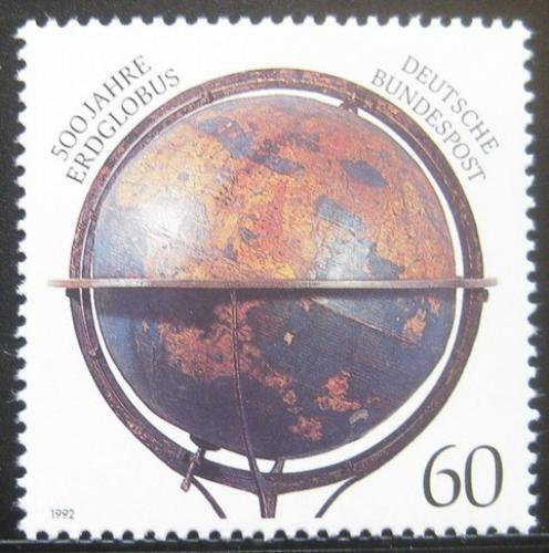 Poštovní známka Nìmecko 1992 Starý glóbus Mi# 1627