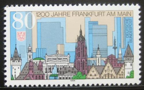 Poštovní známka Nìmecko 1994 Frankfurt, 1200. výroèí Mi# 1721