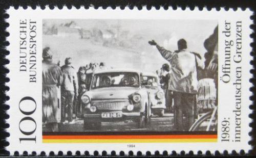 Poštovní známka Nìmecko 1994 Znovuotevøení hranic Mi# 1769