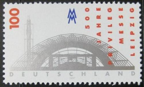 Poštovní známka Nìmecko 1997 Lipský veletrh Mi# 1905