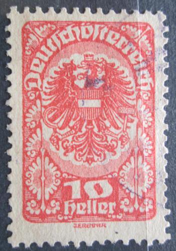Poštovní známka Rakousko 1920 Císaøská orlice Mi# 260 y
