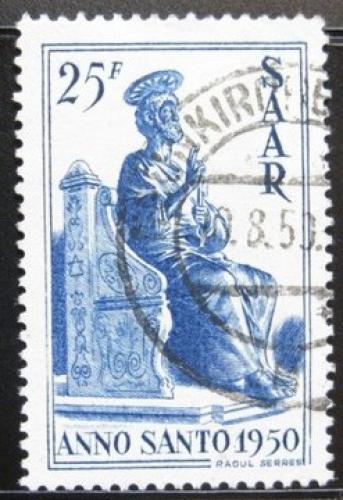 Poštovní známka Sársko 1950 Svatý Petr Mi# 295 Kat 26€