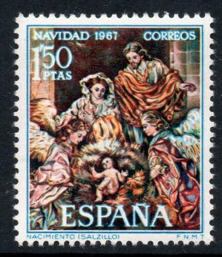 Poštovní známka Španìlsko 1967 Vánoce, umìní Mi# 1732