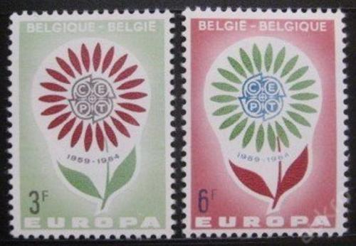 Poštovní známky Belgie 1964 Evropa CEPT Mi# 1358-59