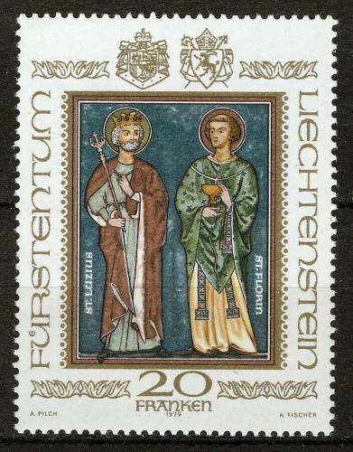 Poštovní známky Lichtenštejnsko 1979 Svatí Mi# 734 Kat 24€