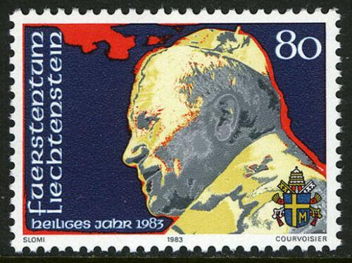 Poštovní známky Lichtenštejnsko 1983 Papež Jan Pavel II Mi# 830