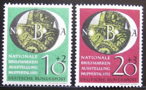 Poštovní známky Nìmecko 1951 Národní výstava Mi# 141-42 90€