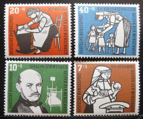 Poštovní známky Nìmecko 1956 Philipp Semmelweis Mi# 243-6 20€