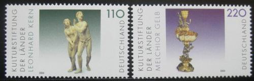 Poštovní známky Nìmecko 2000 Kulturní dìdictví Mi# 2107-08