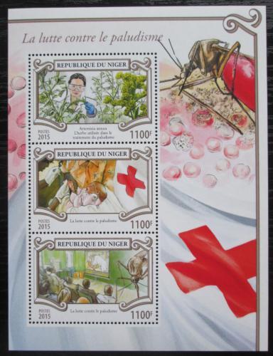 Poštovní známky Niger 2015 Boj proti malárii Mi# 3582-84 Kat 13€
