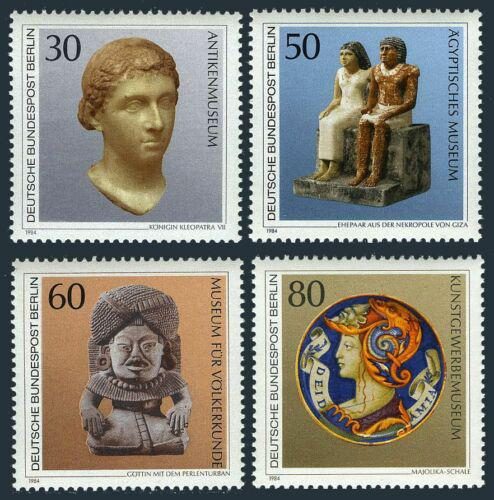 Poštovní známky Západní Berlín 1984 Staré umìní Mi# 708-11 Kat 7.50€